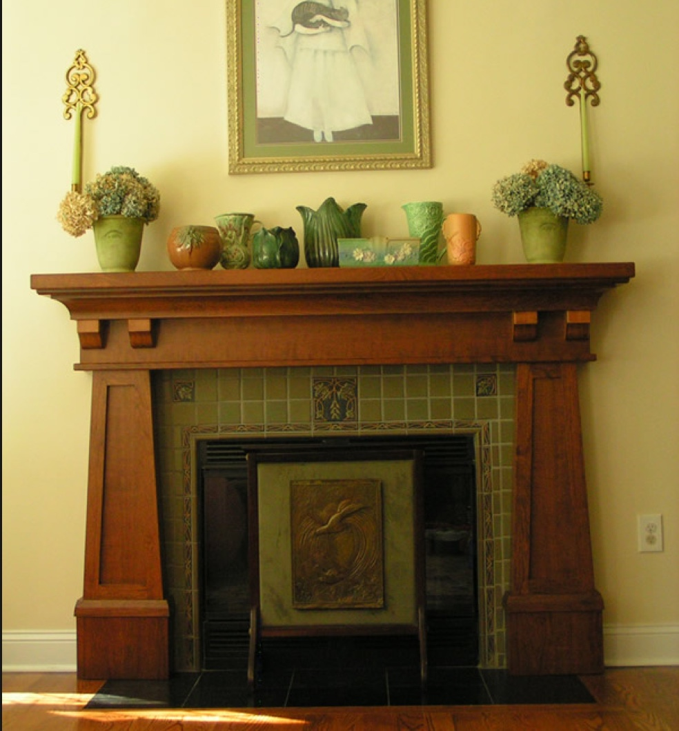 Craftsman Mantel