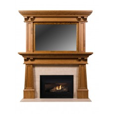 Craftsman with Overmantel I