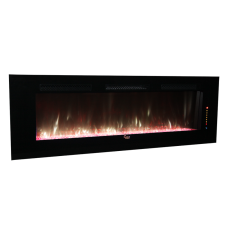 SCW-003 74-Inch Built-in and Wall mounted  Electric Fireplace